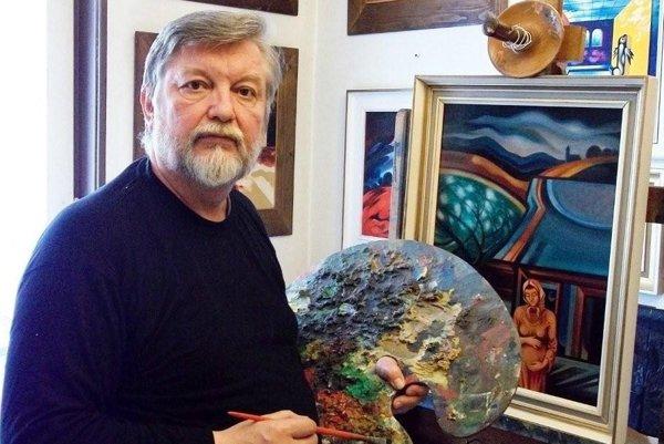 Jozef Porubčin je autorom najväčšej monumentálnej maľby na Slovensku.