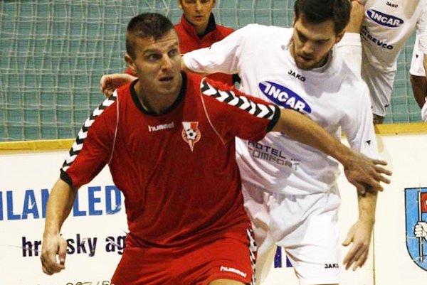Útočník Michal Filo strelil tri góly do siete Šoporne. Archívna snímka je z čias, kedy pôsobil v Seredi.