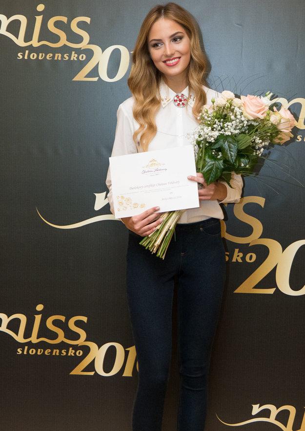 Kristína Činčurová, finalistka súťaže Miss Slovensko 2016.