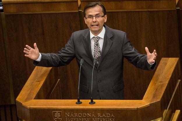 Poslanec liberálov Ľubomír Galko.