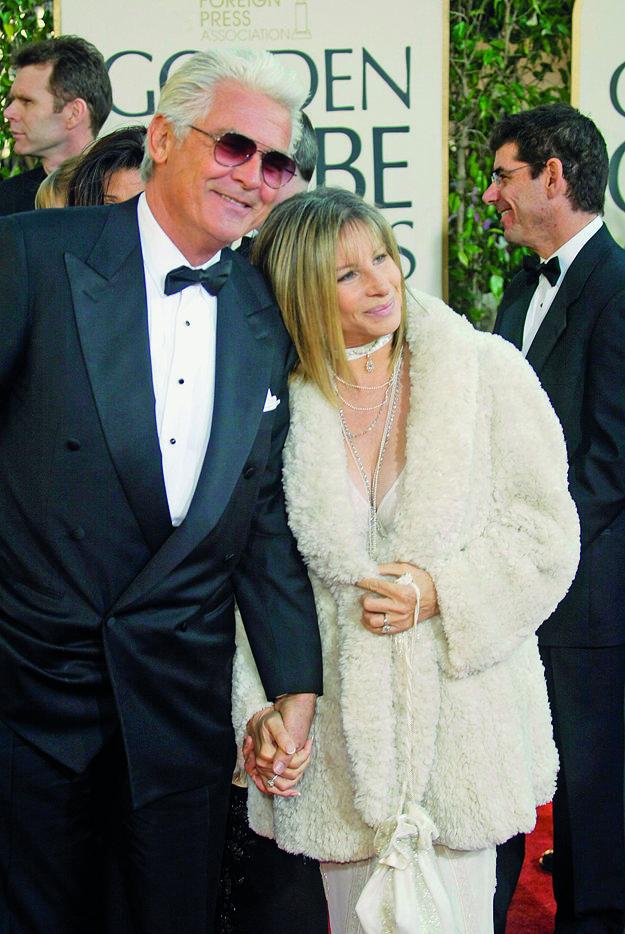 S manželom Jamesom Brolinom