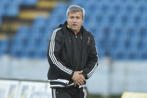 Ivan Hucko viedol Trnavčanov naposledy v zápase na ihrisku Slovana Bratislava.