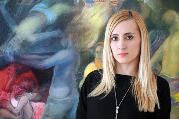 Poverená riaditeľka Galérie Barbora Petríková.