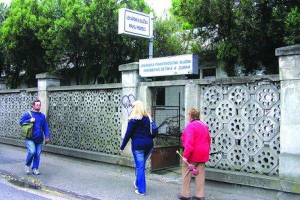 Detská pohotovosť v Nitre je otvorená po celú noc.