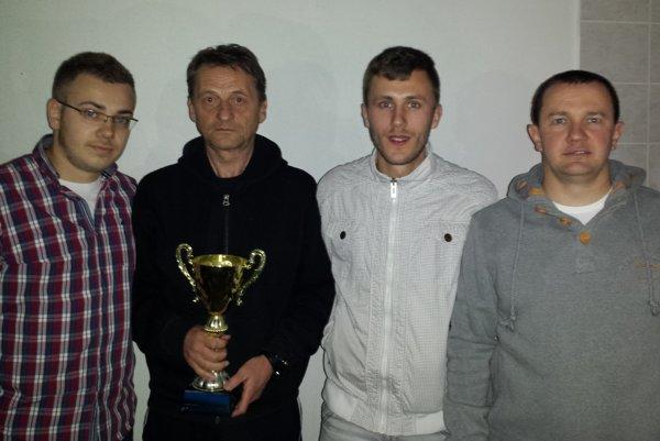 Nižná A - zľava Michal Bandík, Miroslav Bednár, Maroš Ferneza a Zdeno Drbiak.