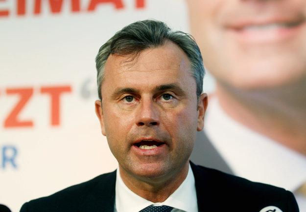 Kandidát slobodných Norbert Hofer.
