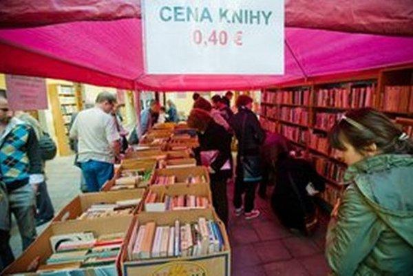 Súčasťou podujatia je obľúbená burza kníh.