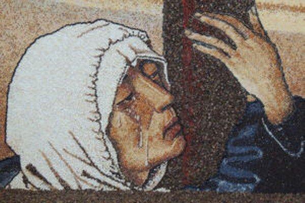 Obrazy z plodov zaplnia novobanský kostol každý rok.