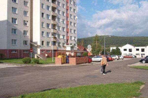 Nový povrch ciest na sídlisku
