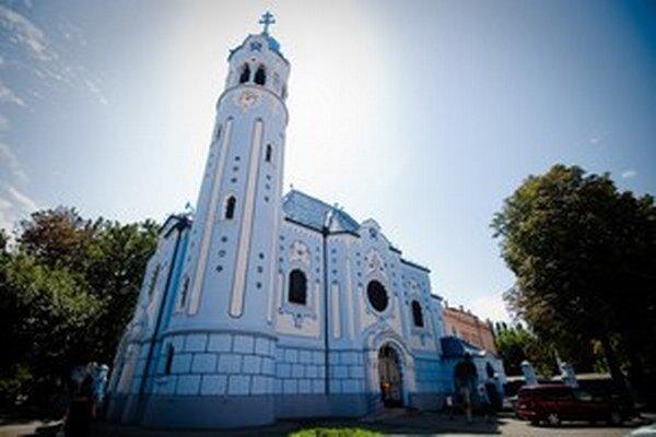Bratislavský Modrý kostolík.