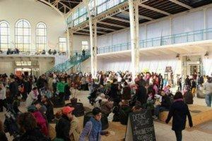 S potravinovými trhmi začala Aliancia minulý rok, teraz ich začala organizovať každú druhú sobotu.