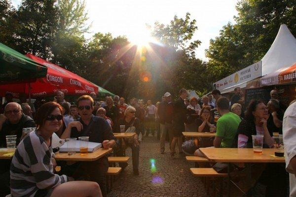 Staromestský pivný festival bude opäť na Hviezdoslavovom námestí.