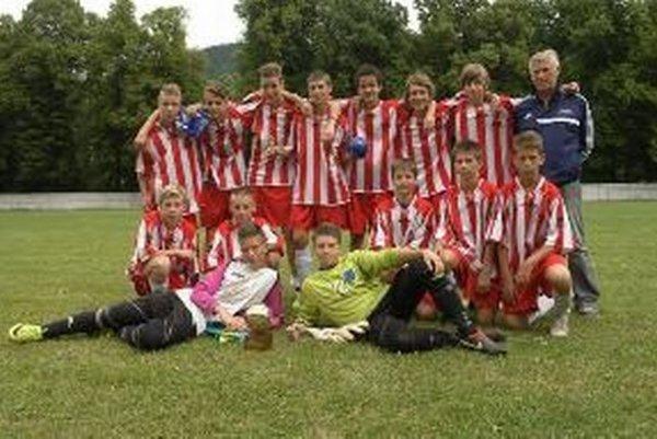 Pohronie U14 – víťaz turnaja.