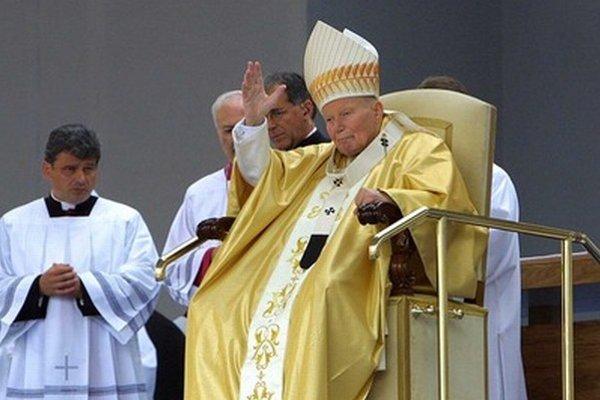 Návšteva Jána Pavla II. v Banskej Bystrici v roku 2003.