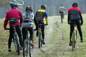 V okolí Banskej Štiavnice majú cyklisti k dispozícii trasy v dĺžke 250 kilometrov.