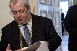 Vladimír Bajan, staronový starosta Petržalky.