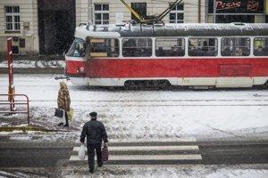 Situácia v Bratislave.
