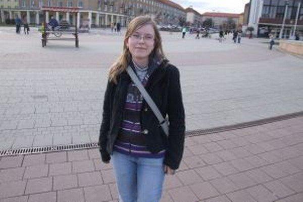 Jana Plauchová. Rodáčka z Banskej Bystrice momentálne býva v Žiari nad Hronom.