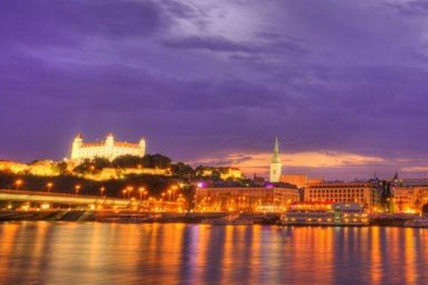 Krásavica na Dunaji.