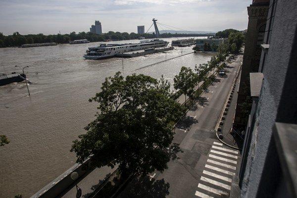 Dunaj ako symbol.