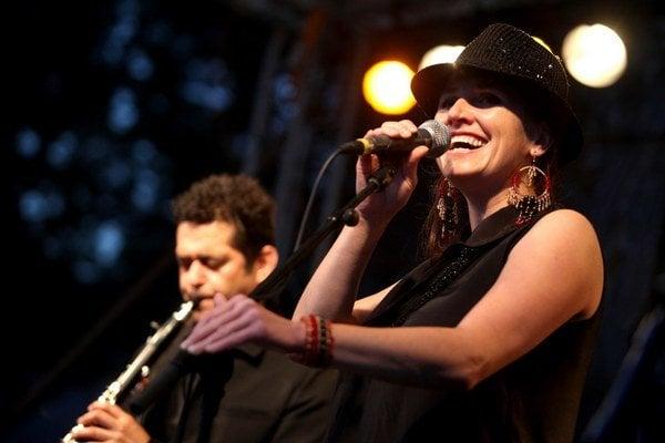Z koncertu Pressburger Klezmer Bandu.