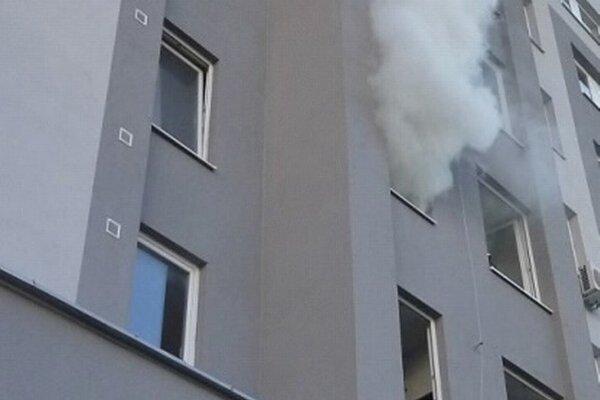 Pri výbuchu sa nikto nezranil.