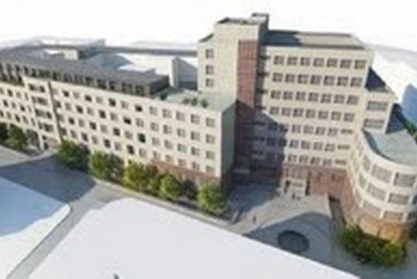 Nemocnicu a polikliniku chcú prestavať na polyfunkčný objekt s bytmi, hotelom a garážami.
