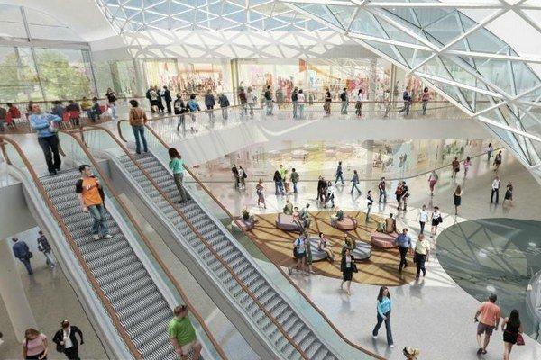 Prvú etapu by mali dokončiť do dvoch rokov, celkovo bude Bory Mall stáť viac ako 150 miliónov eur.