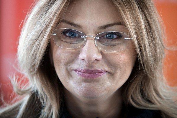 Monika Flašíková-Beňová je Facebooku najaktívnejšia.