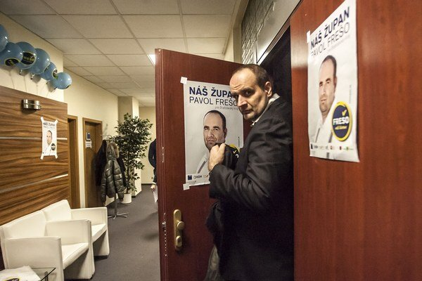 Frešo chce kampaň vyúčtovať až po druhom kole volieb.