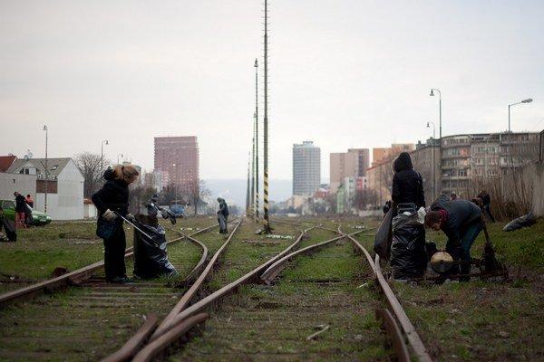 Flašíková Beňová chce z Filiálky park, Frešo plánuje tunel.