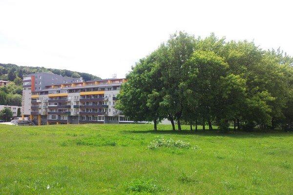 Najväčšia zelená plocha v strede Dúbravky.