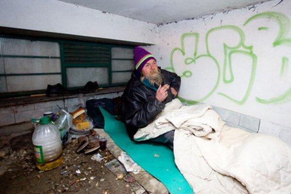 Občianske združenia odhadujú, že v Bratislave žije okolo 4000 bezdomovcov. Miest v nocľahárňach je niekoľkonásobne menej.
