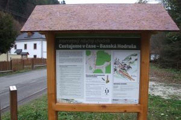 Internetový náučný chodník v Hodruši-Hámroch je jediným na Slovensku.