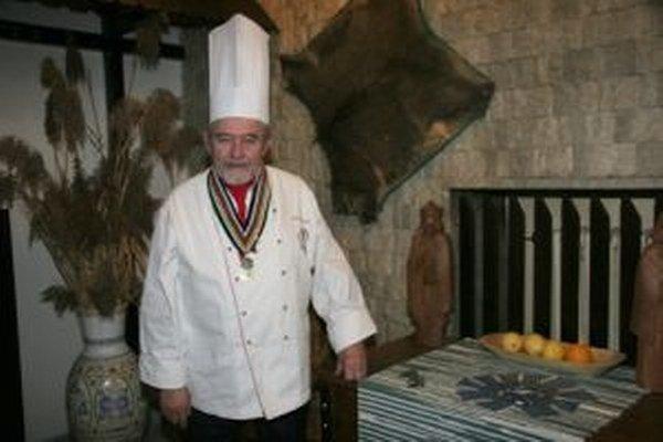 Ondrej Antovszký. E-kniha venovaná slovenskej kuchárskej legende vyšla koncom novembra.