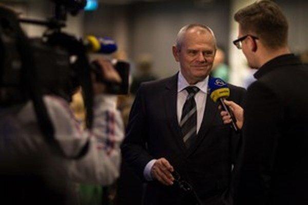 Milan Kňažko si návrat pred spravodajské kamery užíval.