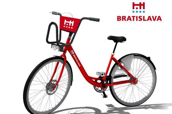 Vizualizácia bicykla je predbežná, konkrétnu podobu určí dodávateľ.