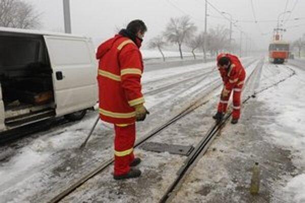 Kvôli námraze padali aj stromy, dopravný podnik s ňou bojuje od 23. decembra.