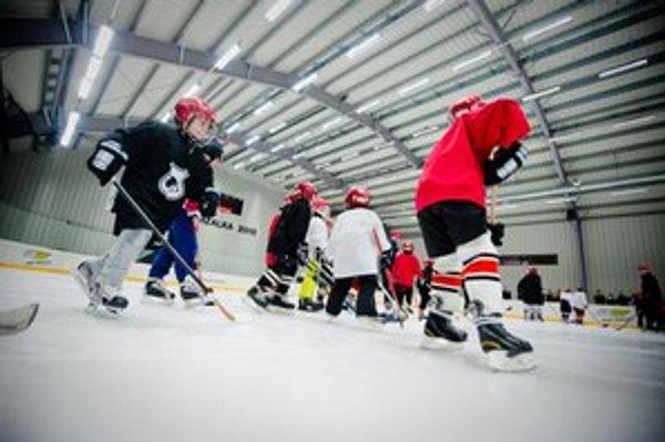 Štadión má oživiť detský hokej v Petržalke.