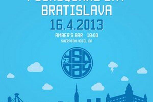 Slovensko v utorok 16.4. oslávi Foursquare Day.