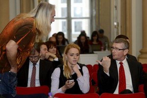 V miestnom parlamente si už hovoria LIDO. Zľava Marián Greksa, Katarína Augustinič a Vladislav Hečko.