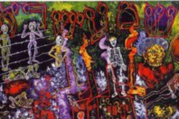 Vízie z pekla, obraz z roku 1959.
