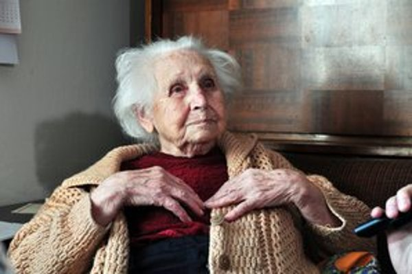 Najstaršia Bratislavčanka má tri deti, dnes má šesť vnúčat a 11 pravnúčat.