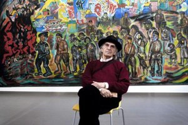 Thomas Frankl na výstave v Bratislave, šíri po svete otcovo posolstvo.