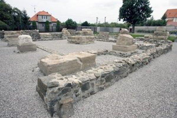 Rímsky vojenský tábor Gerulata.