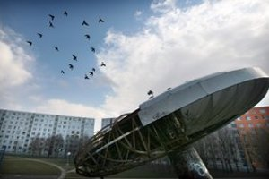 Ufo na bratislavskom sídlisku Medzi jarky.