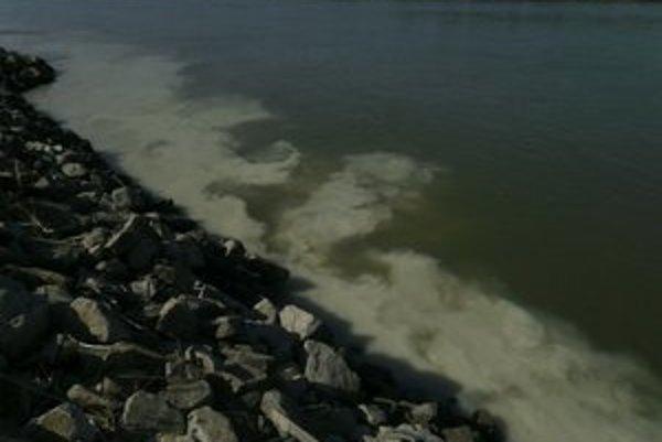 Kal, ktorý bolo vidieť, keď klesol Dunaj.