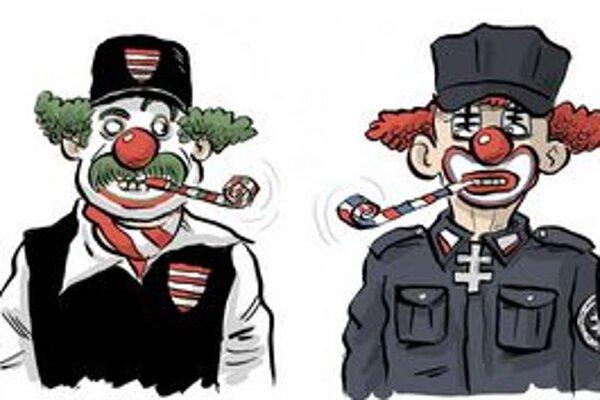 Zuzana Gáborová je spoluorganizátorkou kultúrneho protestu proti fašizmu Dosť bolo ticha. Študovala psychológiu v USA. Z bezpečnostných dôvodov si neželala zverejniť svoju fotografiu. Autorom obrázka k akcii Dosť bolo ticha je karikaturista SME Shooty.