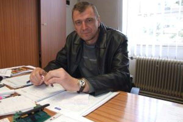 Starosta Banskej Belej Branislav Babirád informoval o cyklotrasách, ktoré v okolí pribudnú.