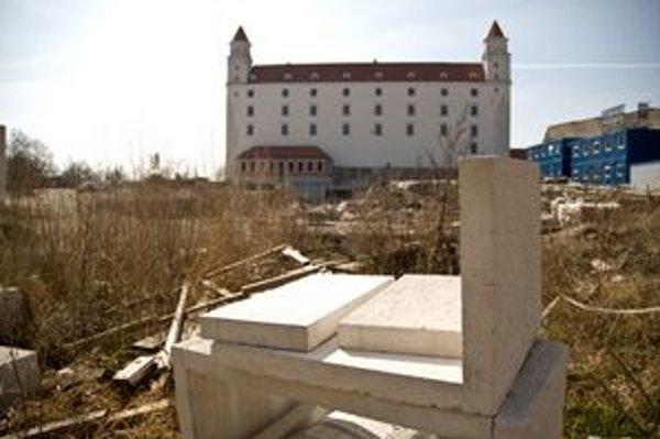 Bratislavský hrad v súčasnosti prechádza veľkou rekonštrukciou